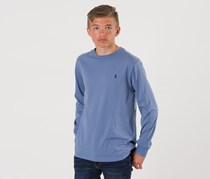 Ralph Lauren Boy's Cotton Jersey Crewneck T-Shirt, Blue