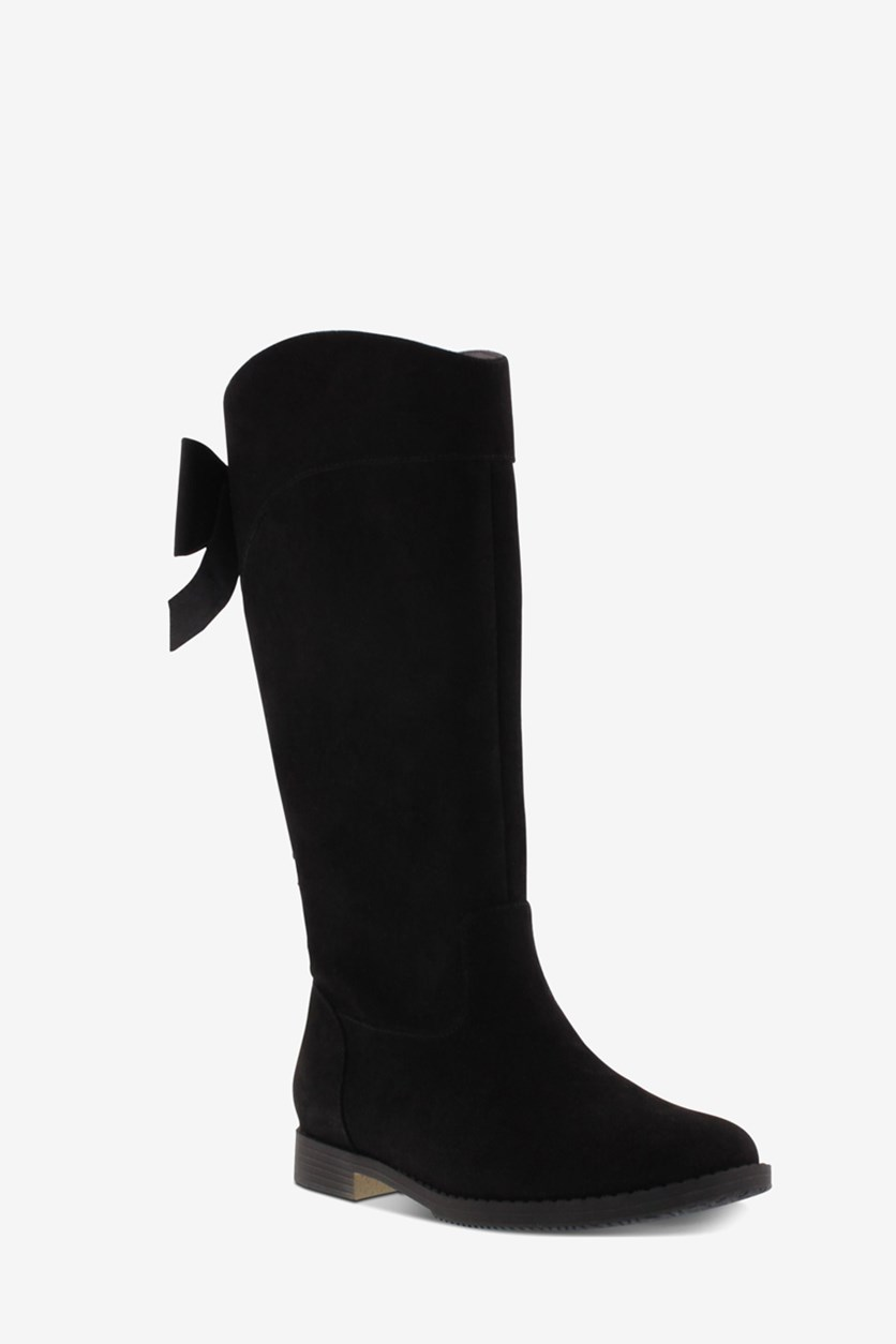 Big Girls Kennedy Gracie Tall Boots, Black