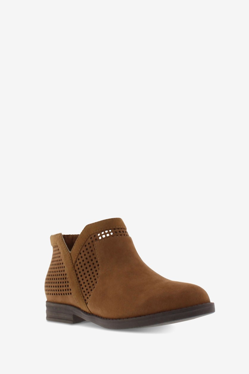 Big Girls Wild South Booties, Caramel