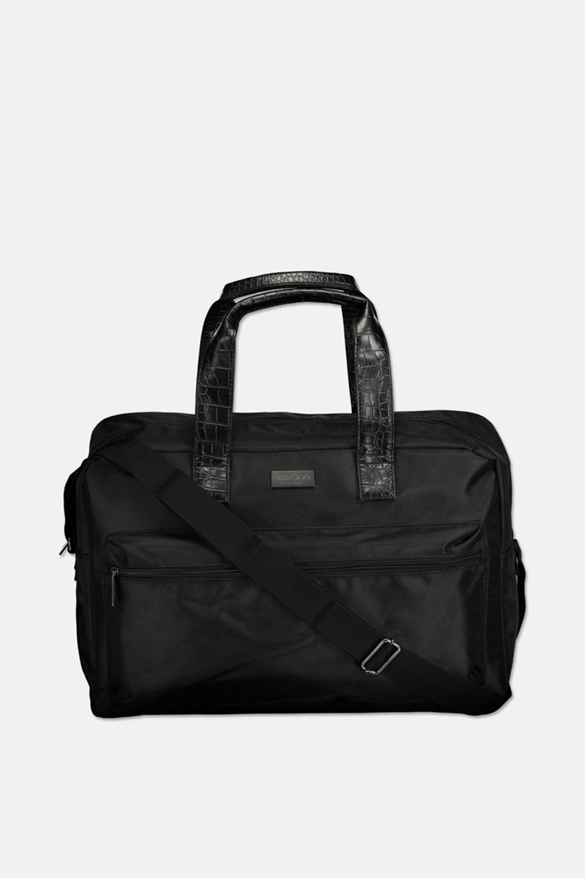 Men's Duffle Weekend Gym Bag, Black