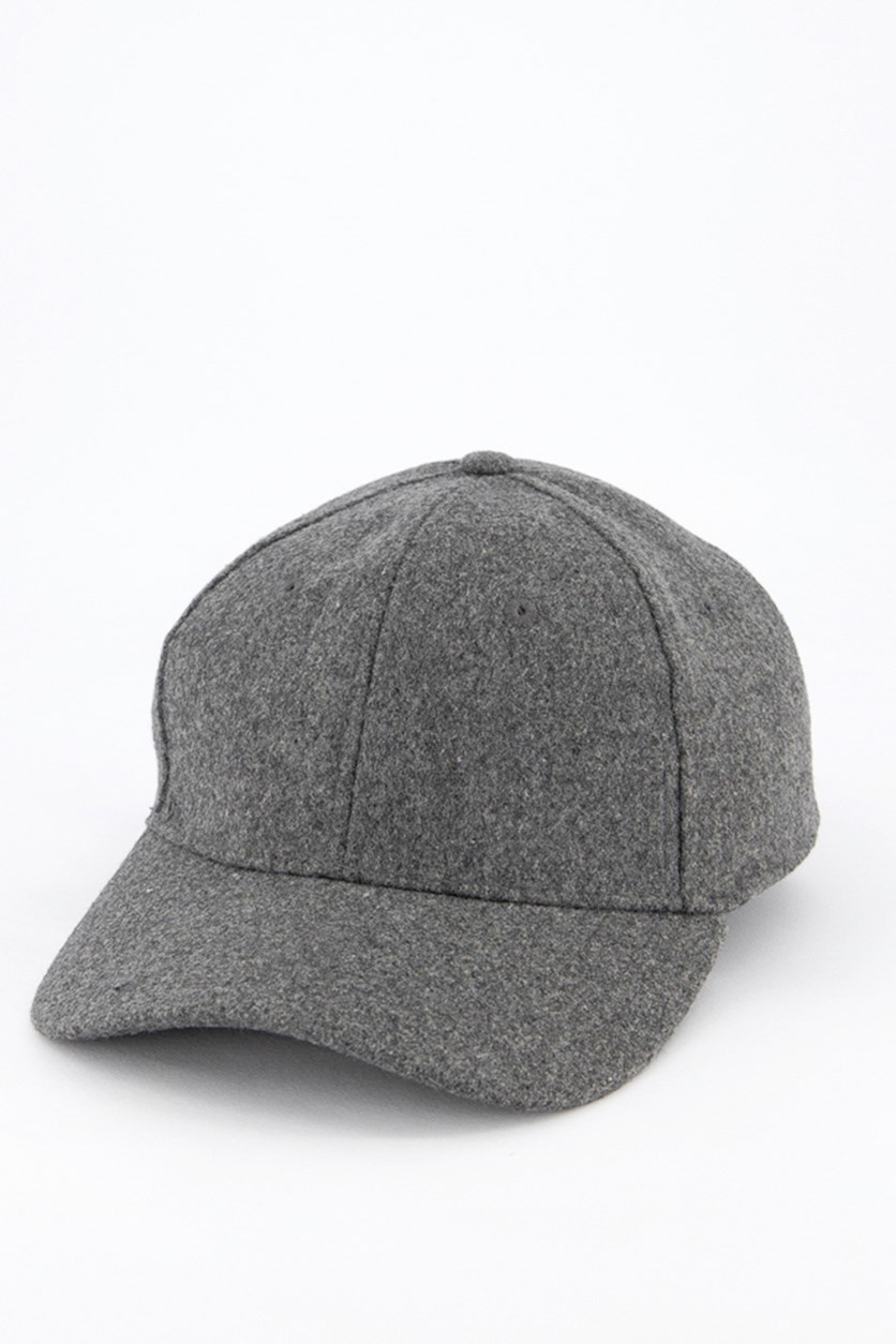 Men's Heather Cap, Grey