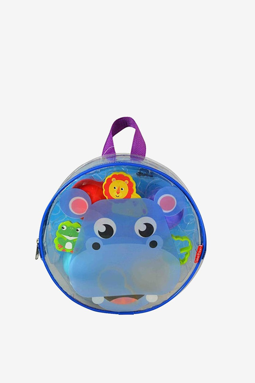 Dough Dots On The Go Play Set Hippo, Purple