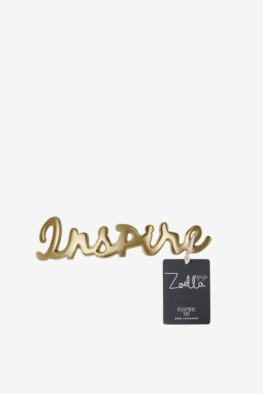 Inspire Paperweight, Gold