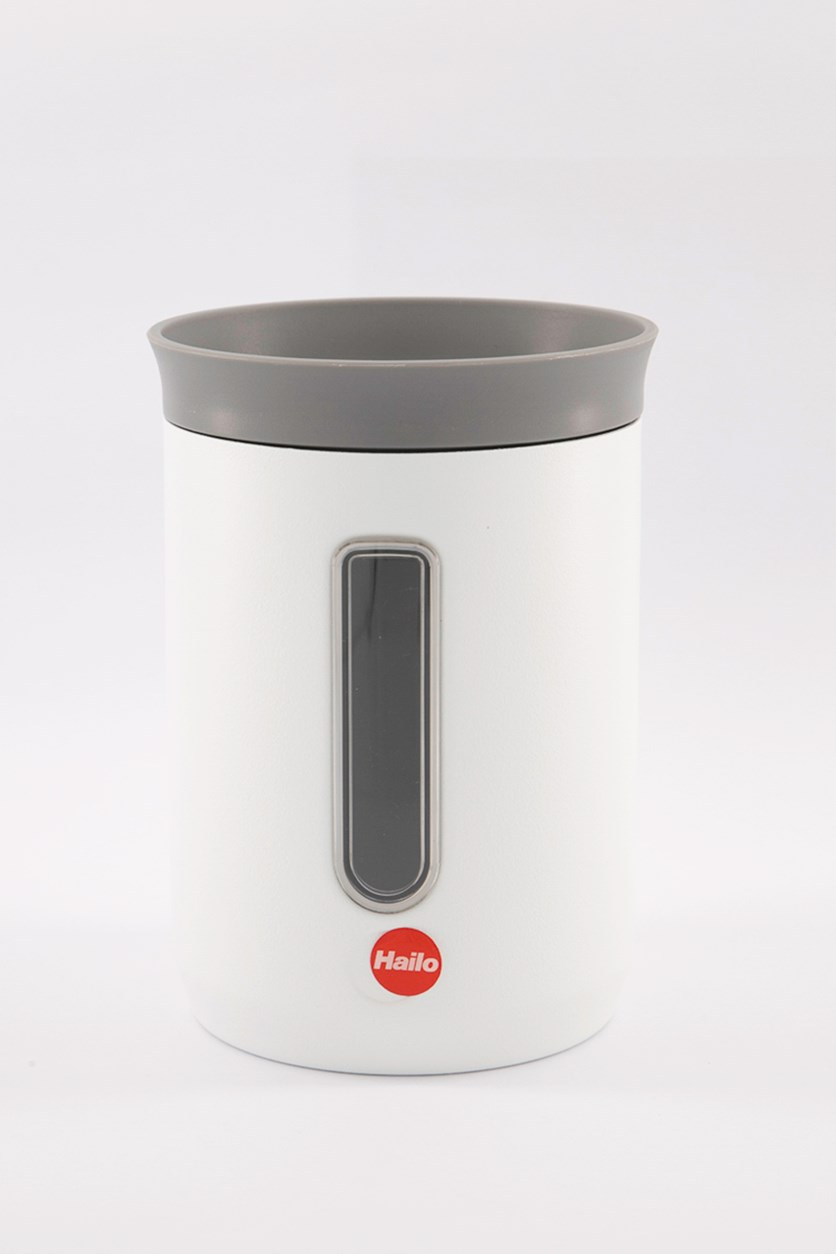 Kitchen Storage Container Canister, White
