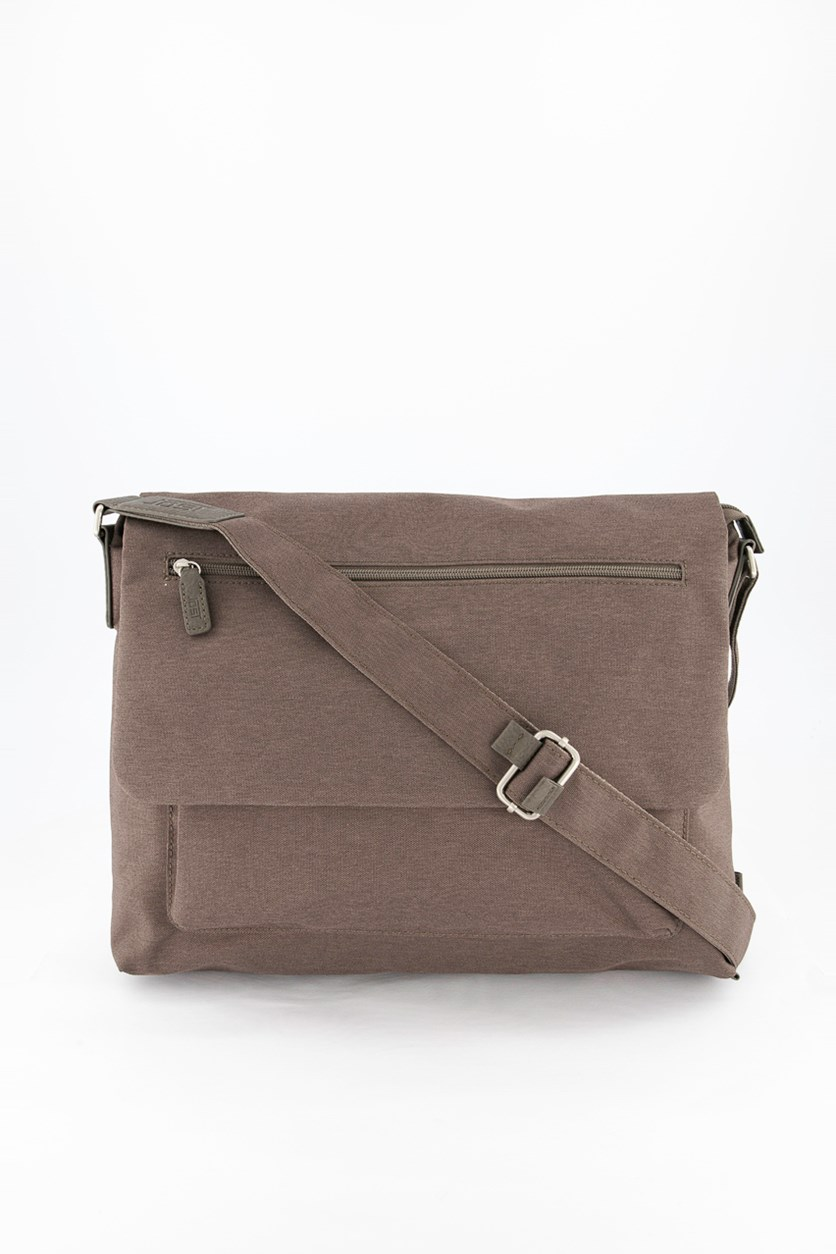 Men's Bergen Shoulder Bag, Taupe
