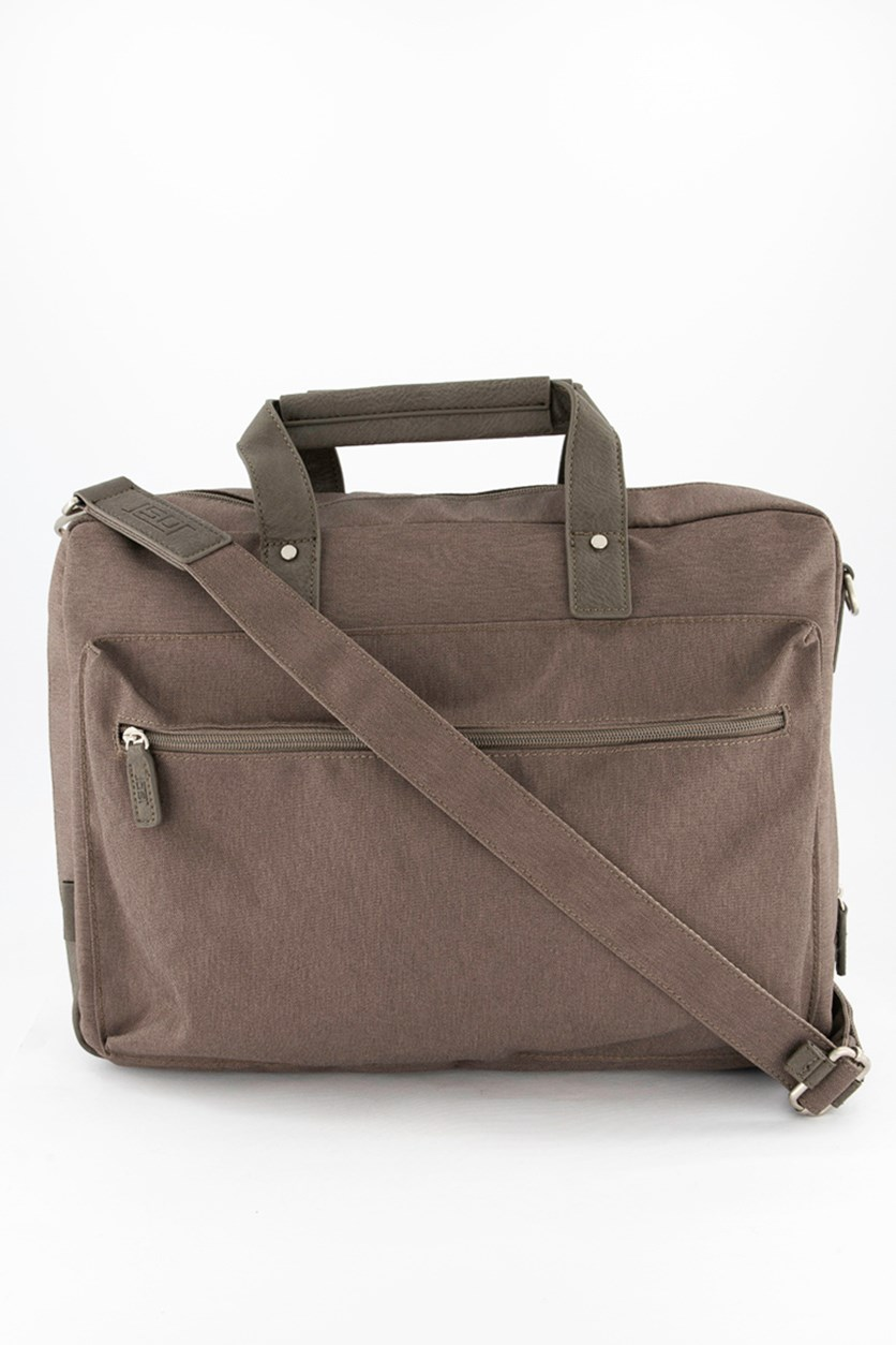 Men's Briefcase Bag, Taupe