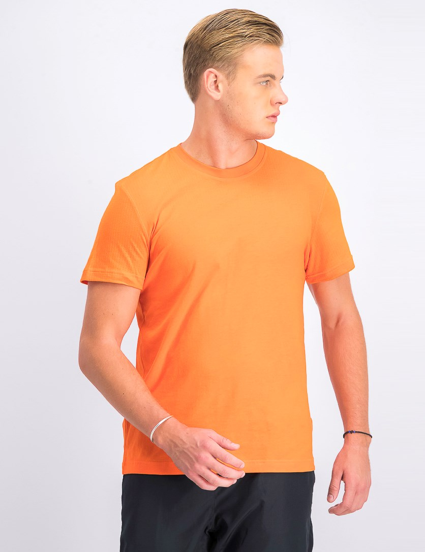 Men's Aeroknit Tee, Orange