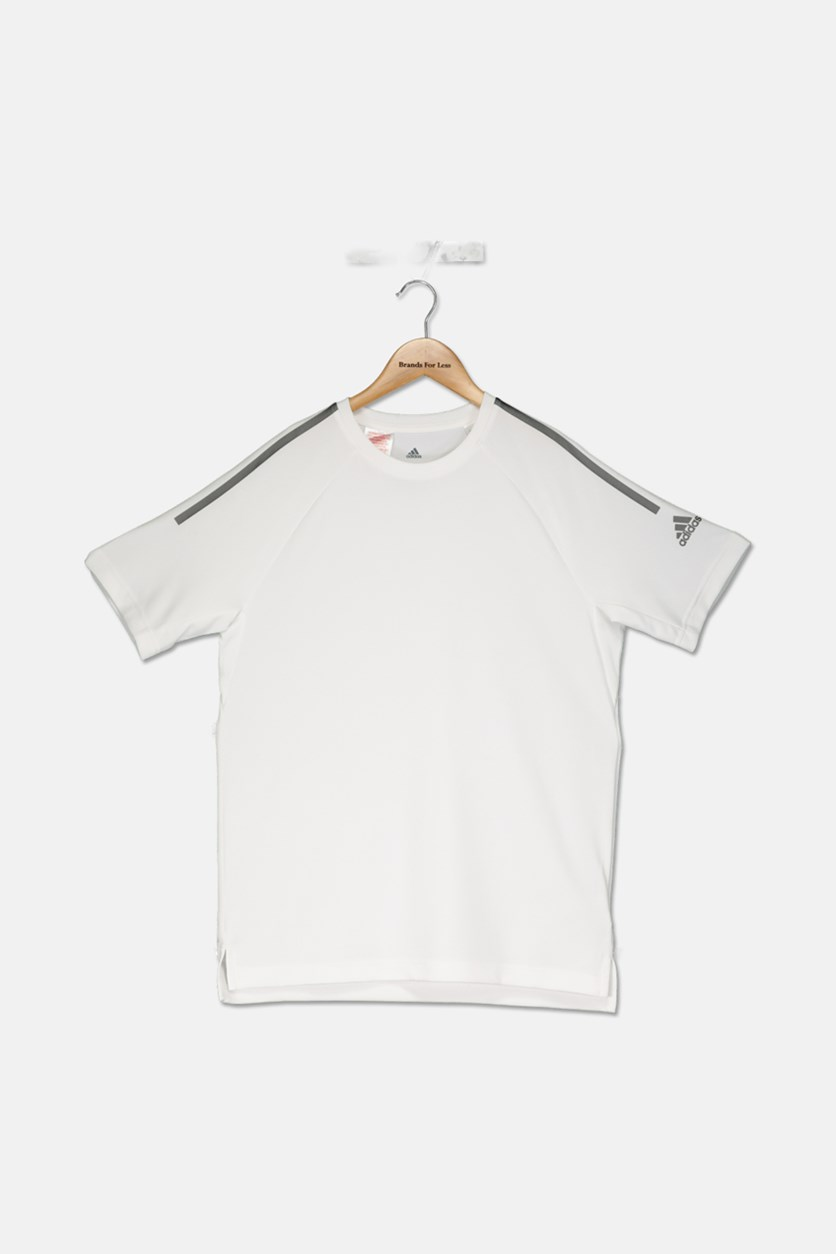Boy's Training Cool Tee, White