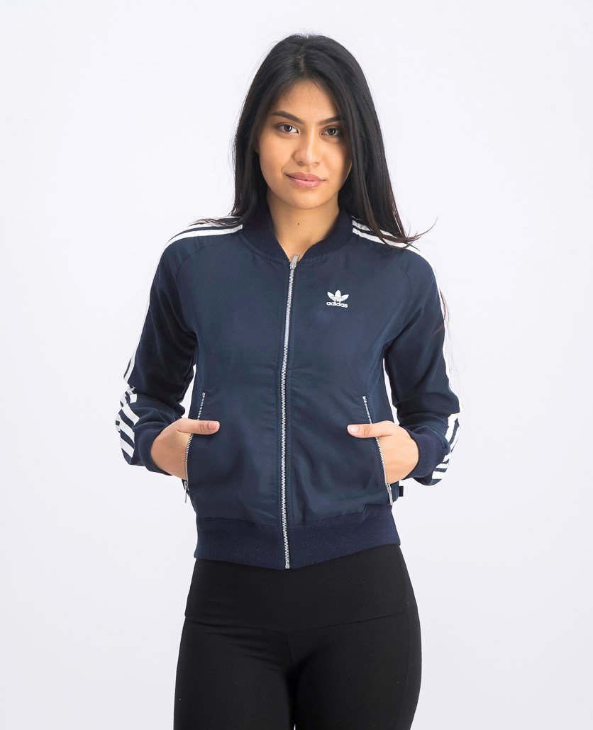 Women's Superstar Track Jacket, Legend Ink
