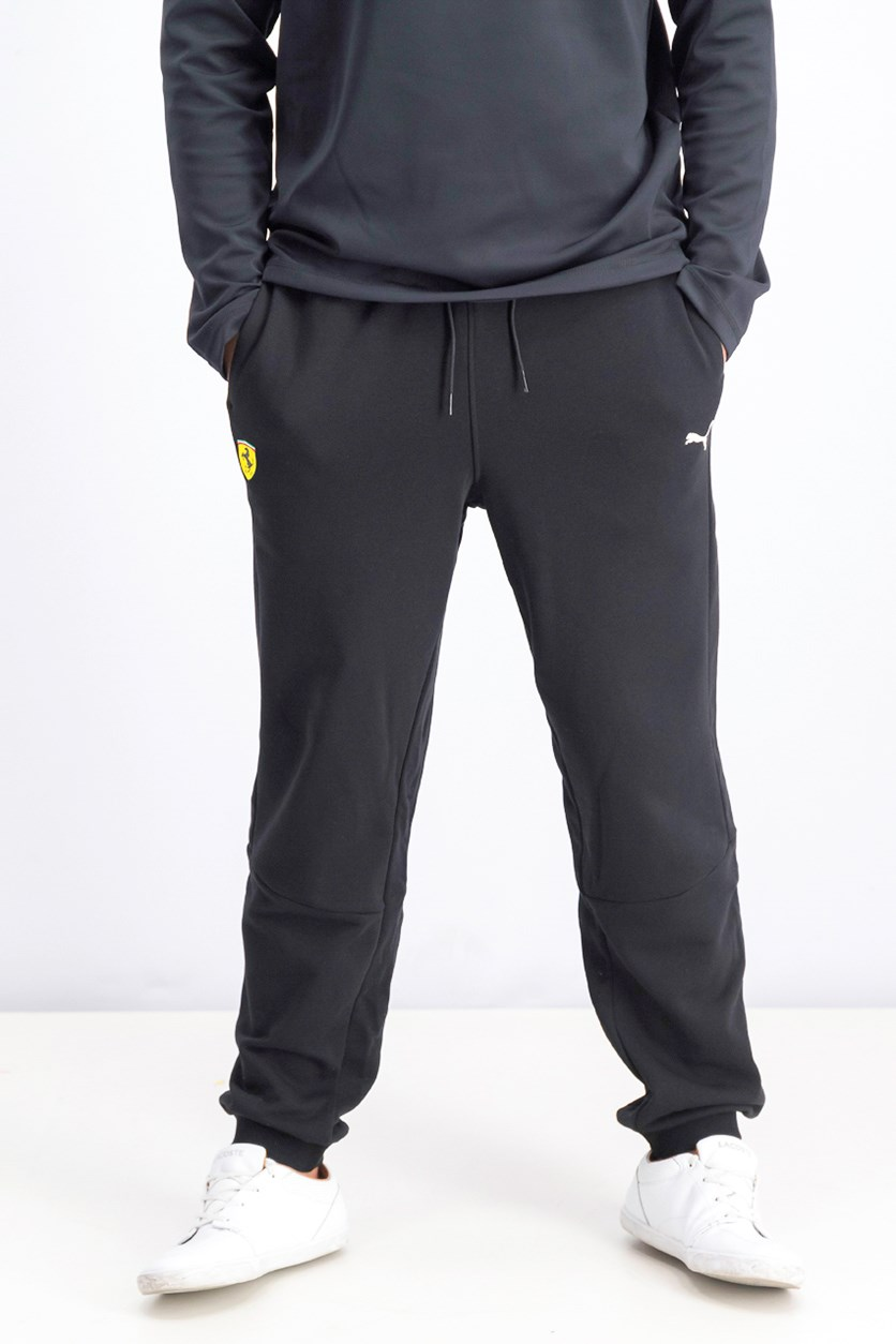 Men's Scuderia Ferrari Sweat Pants, Black