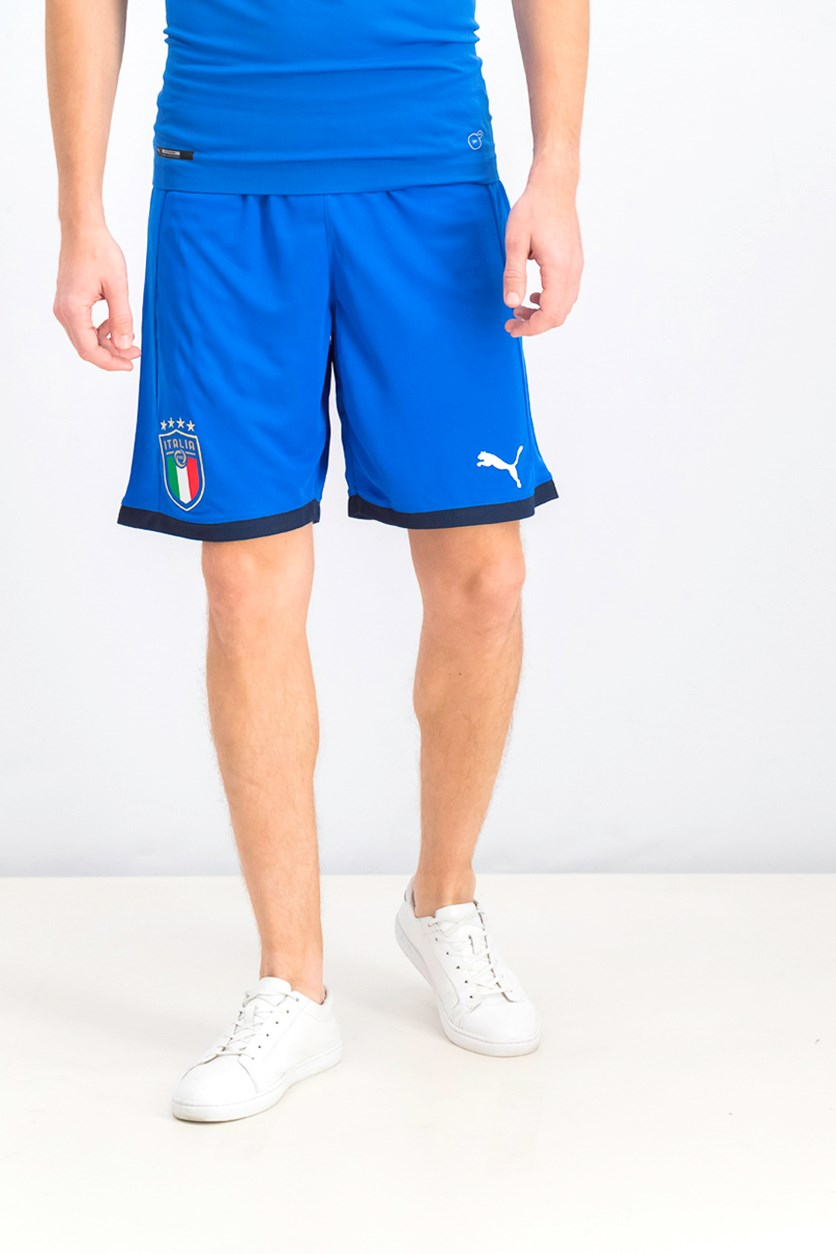 Men's FIGC Italia Shorts, Power Blue