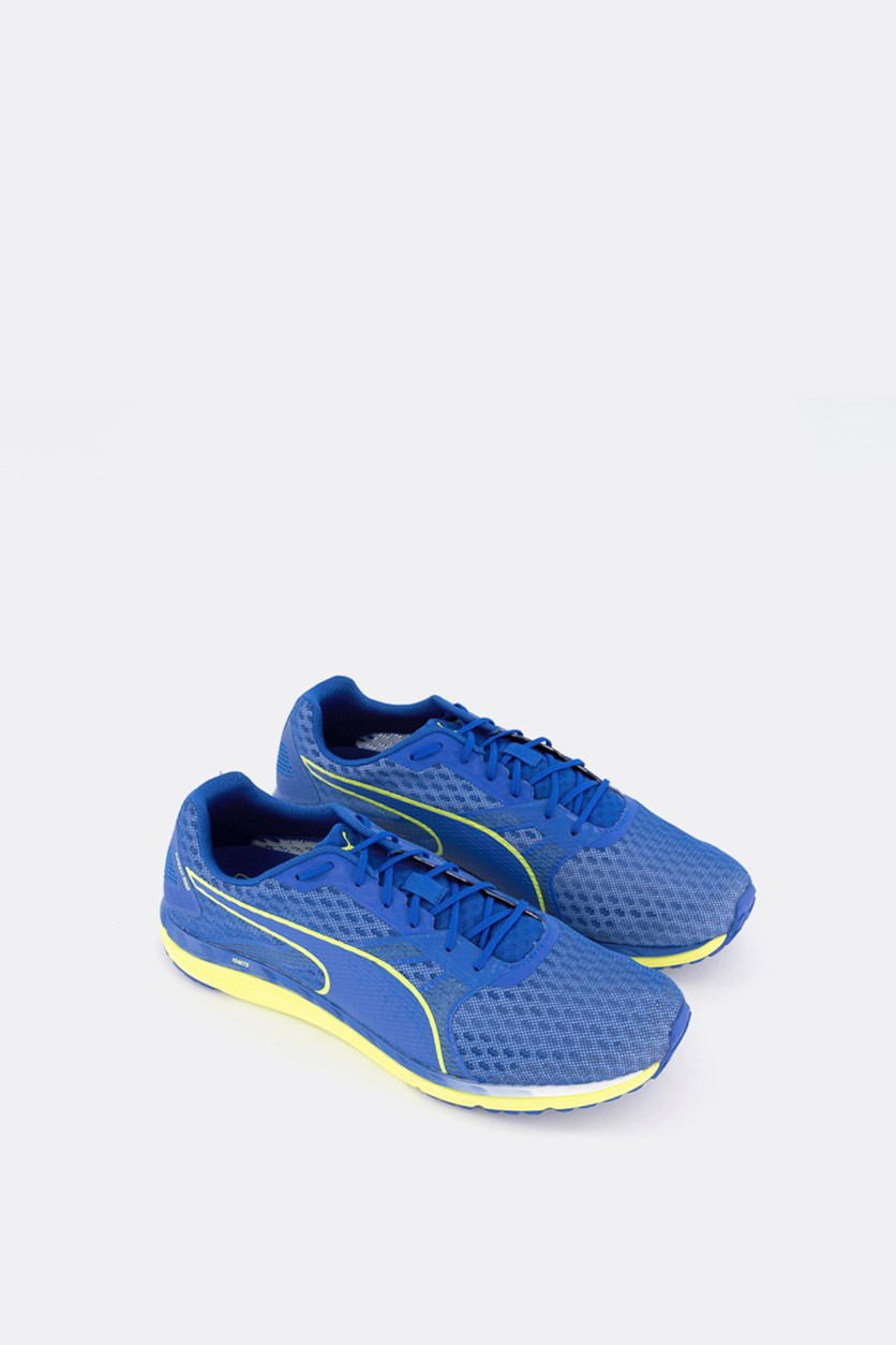 Men's Speed 300 Ignite 3 Shoes, Turkish Sea/Peacoat/Yellow