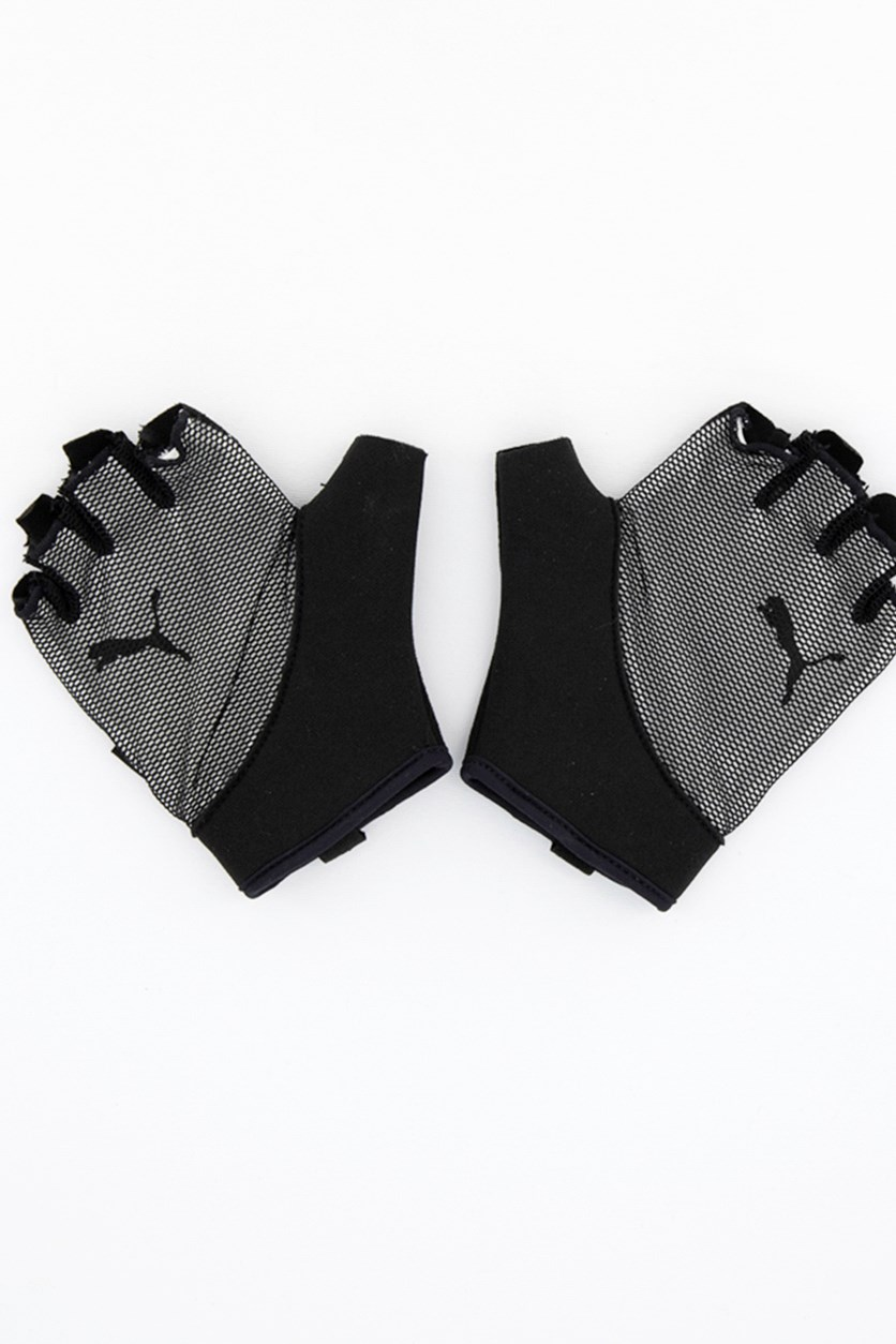 Men's Ambition Gym Gloves, Black/White