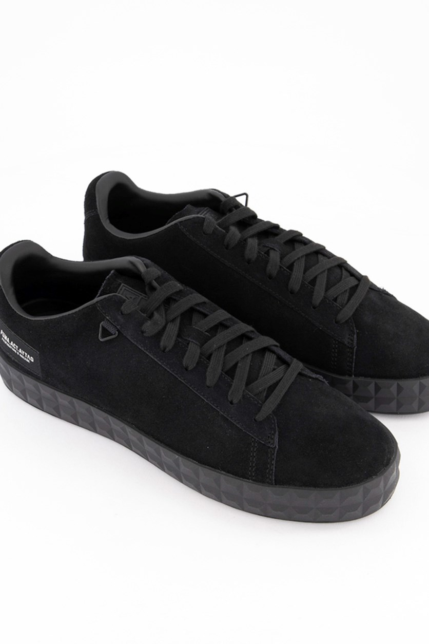 Men's Court Platform O.Moscow Shoes, Black