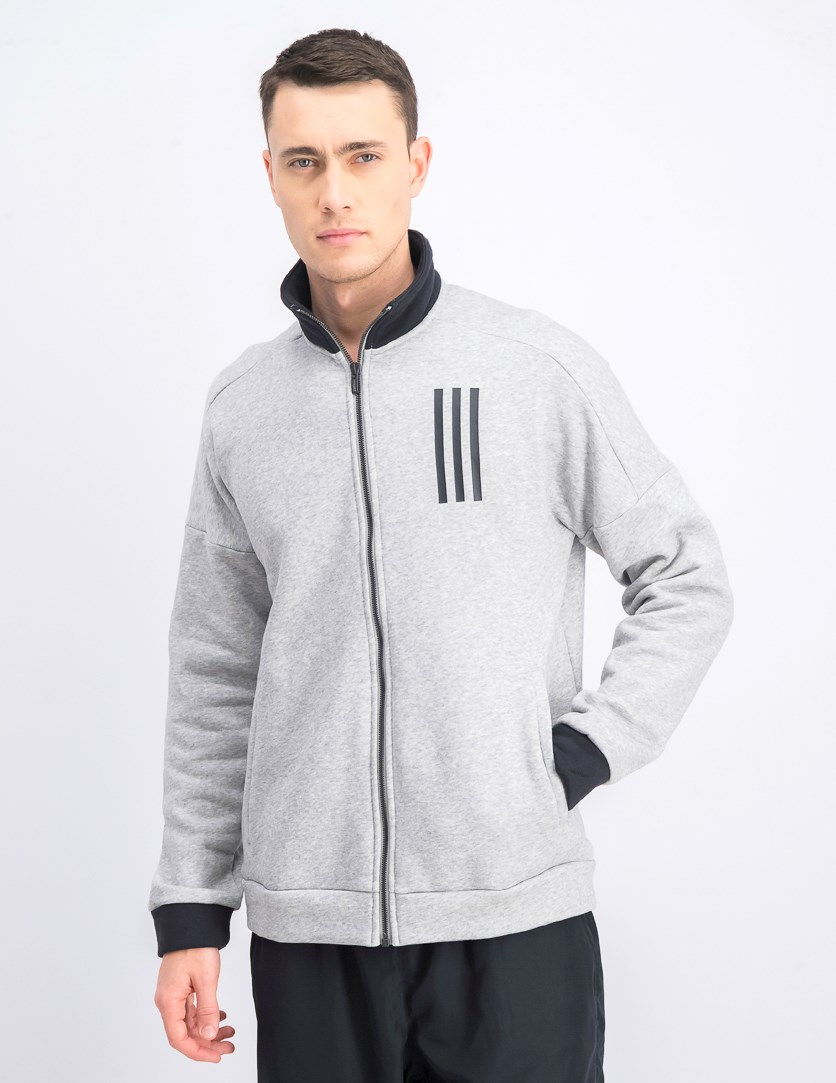 Men's Full Zip Track Jacket, Grey