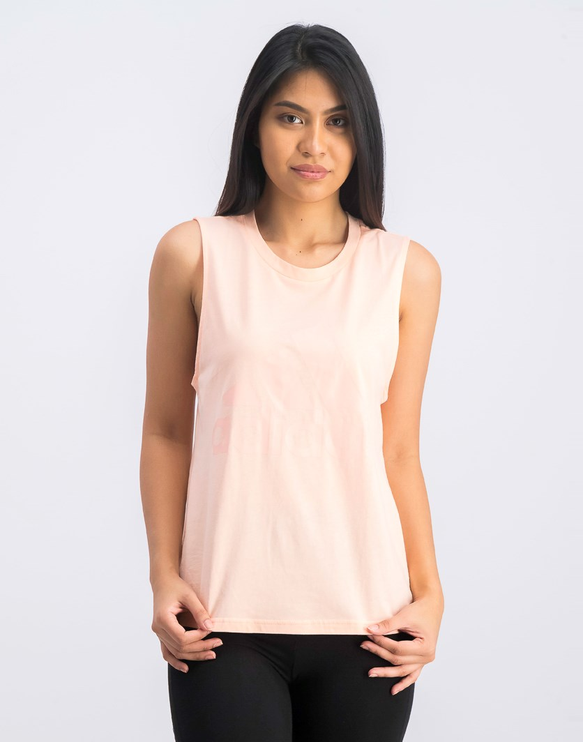 Women's Essentials Logo Tank Top, Light Pink