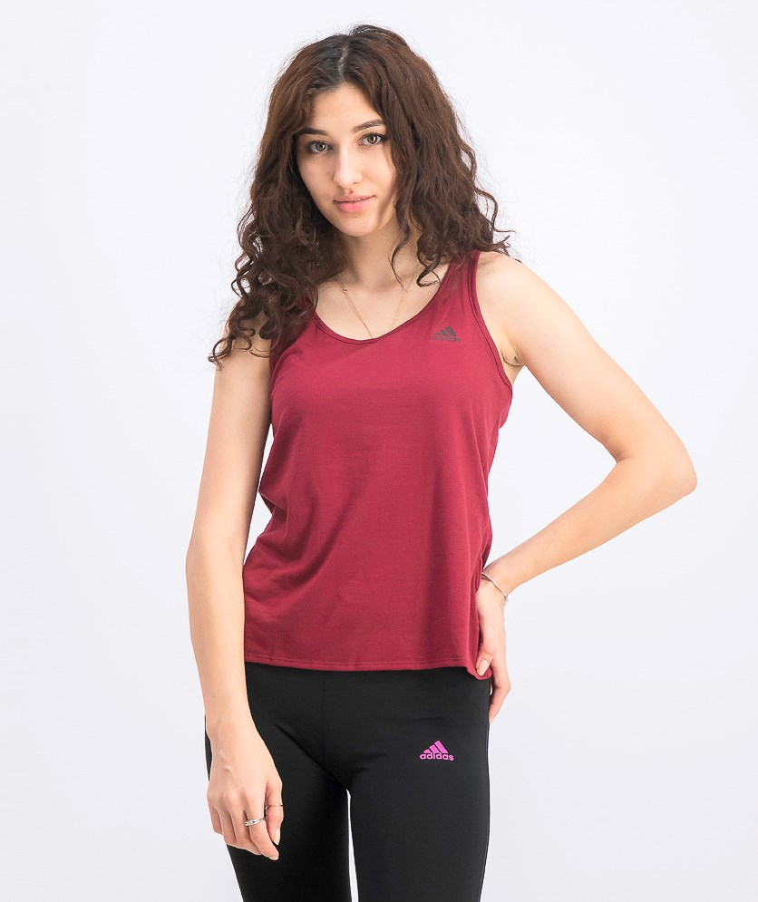 Women's Prime Tank Top, Maroon