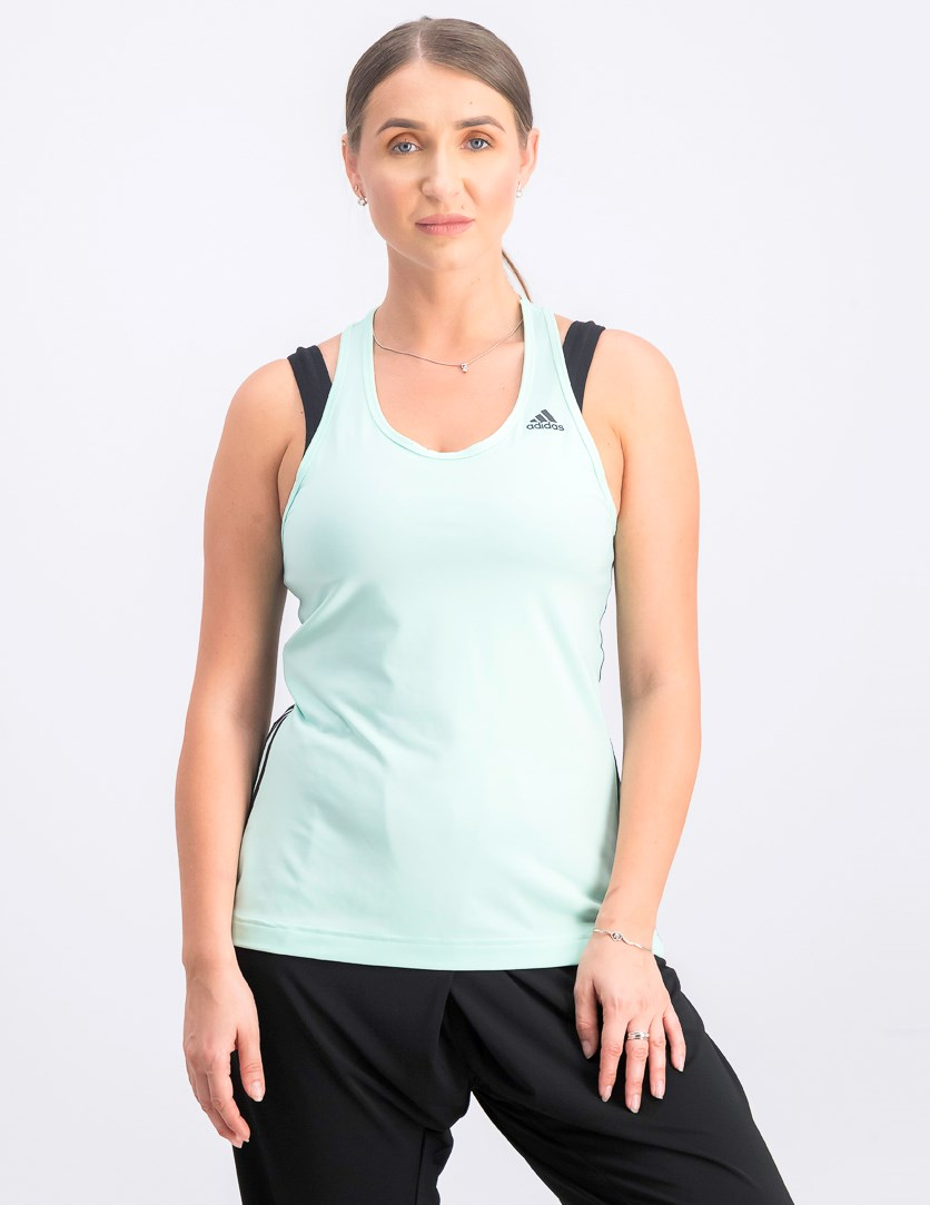 Women's Regata D2M 3-Stripes Top, Clear Mint