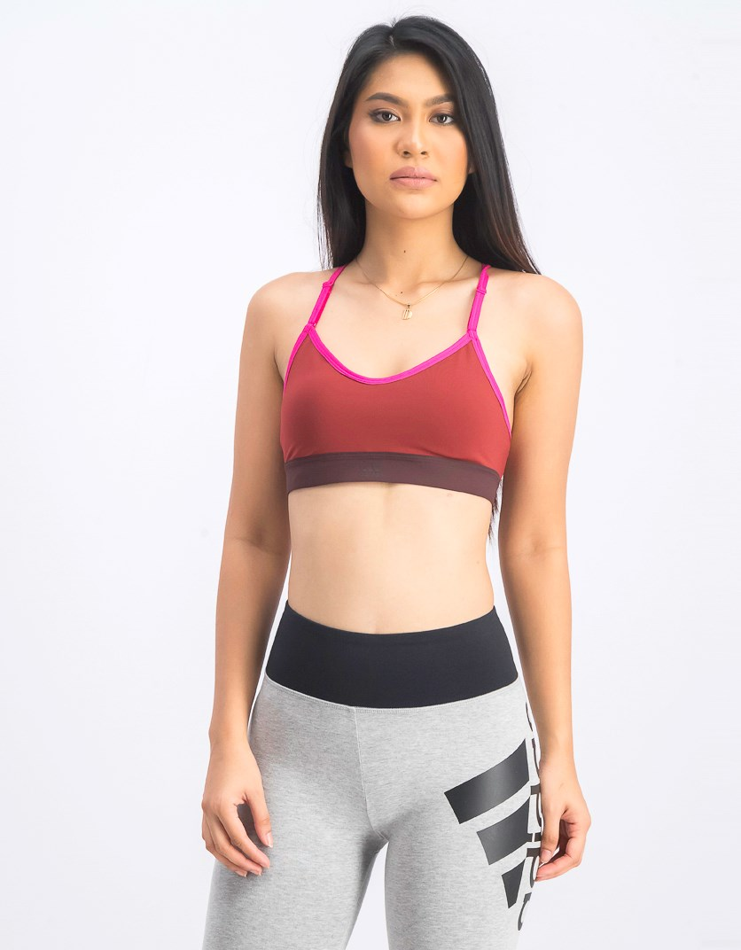 Women's All Me Sports Bra, Red