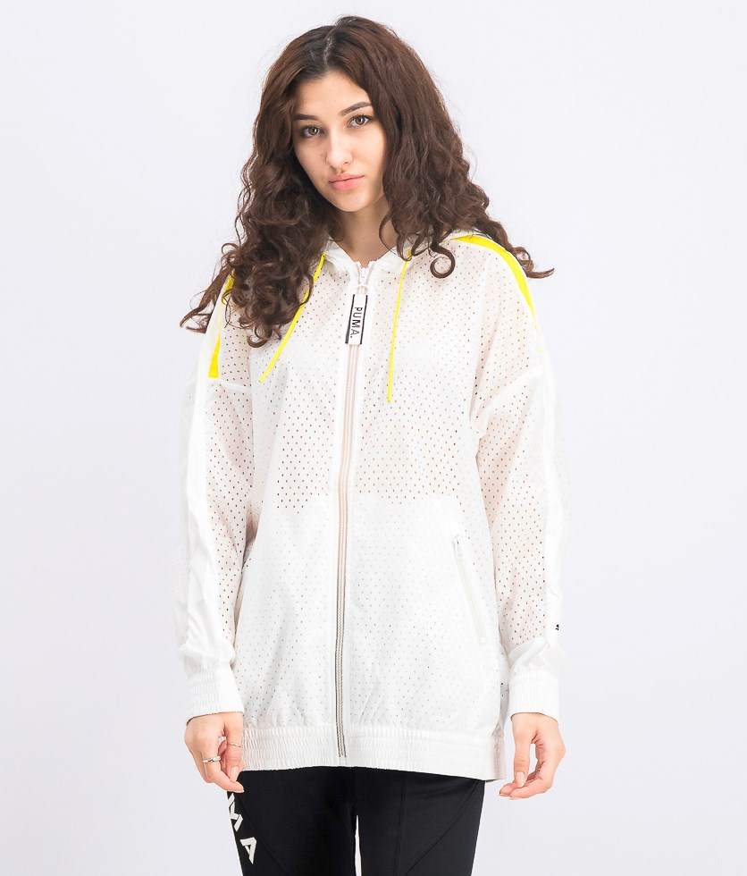 Women's Chase Woven Jacket, White