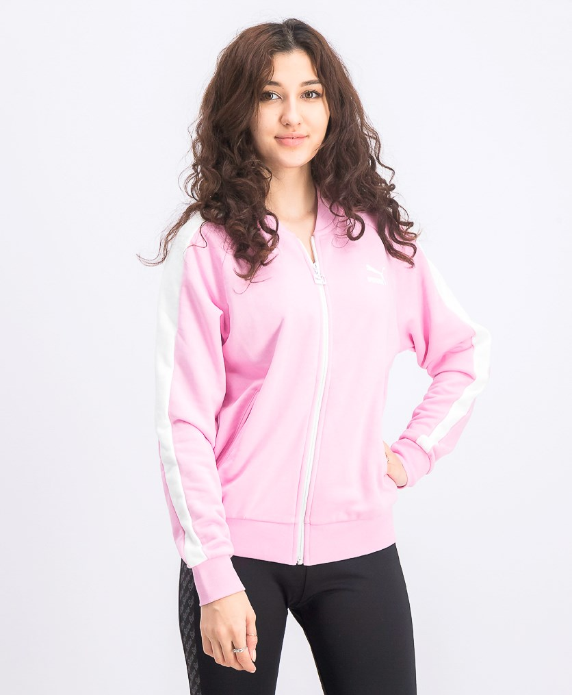 Women's Classic T7 Track Jacket, Pink