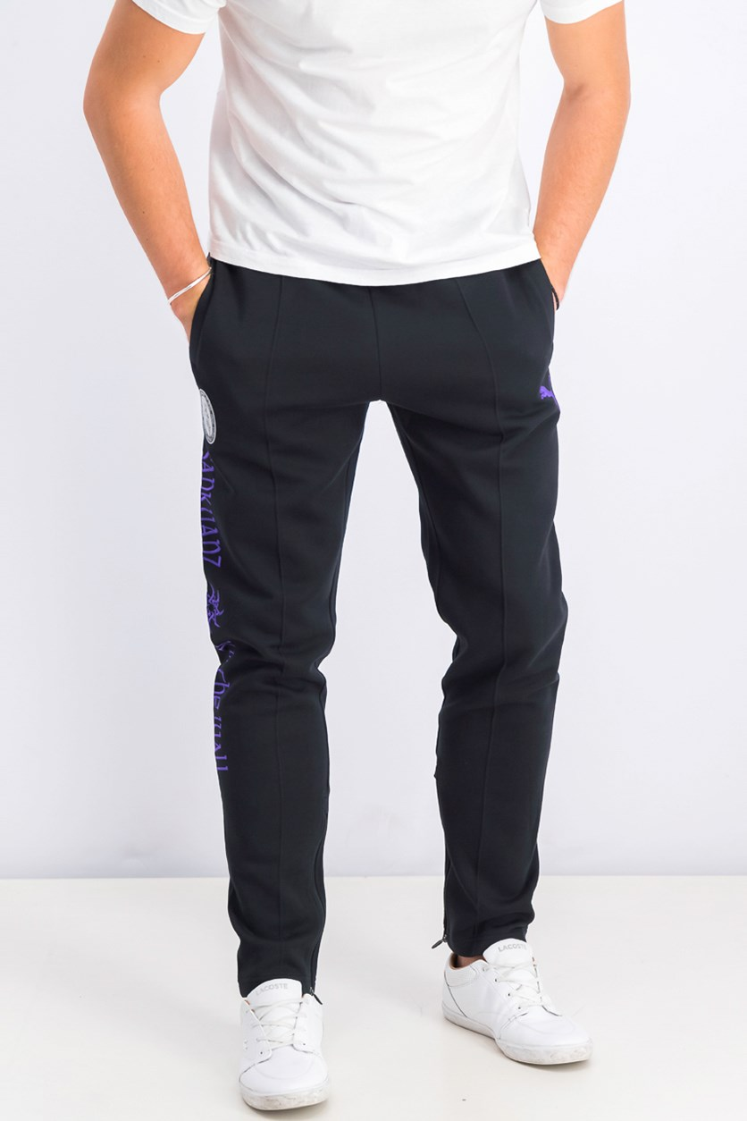 Men Pull-on Pants, Black