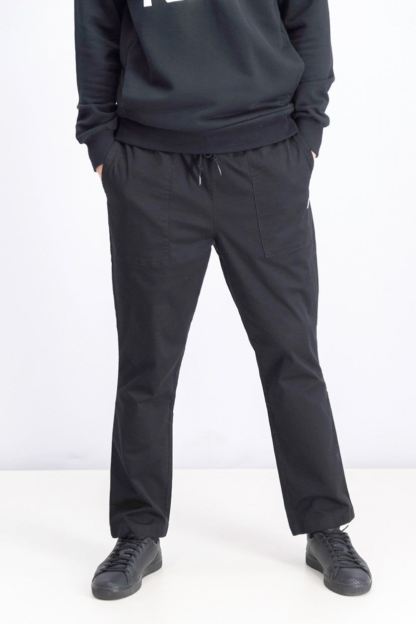 Men's Downtown Twill Pants, Black