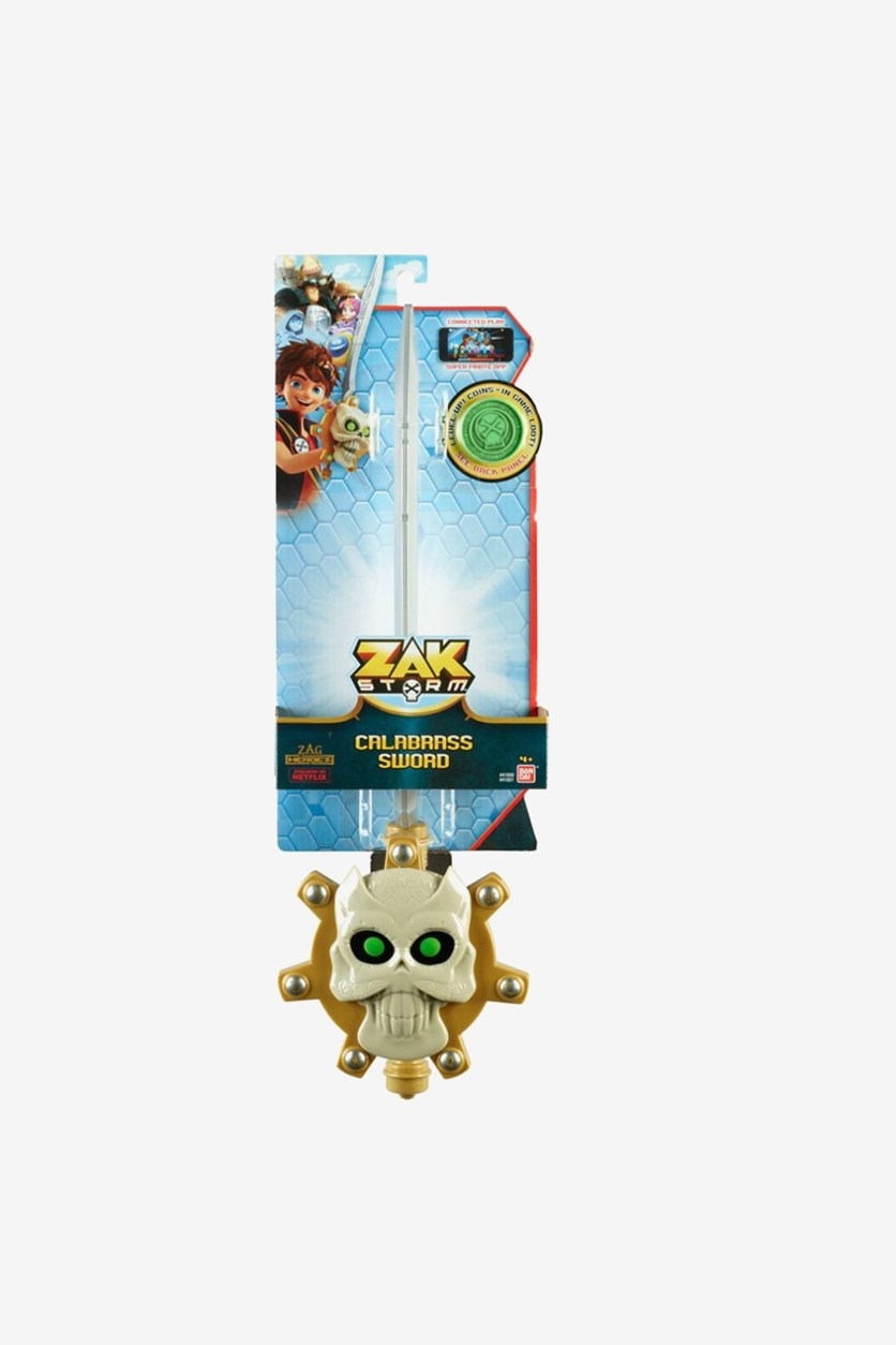 Boy's Zak Storm Role Play Calabrass With Coin, GrayKhaki