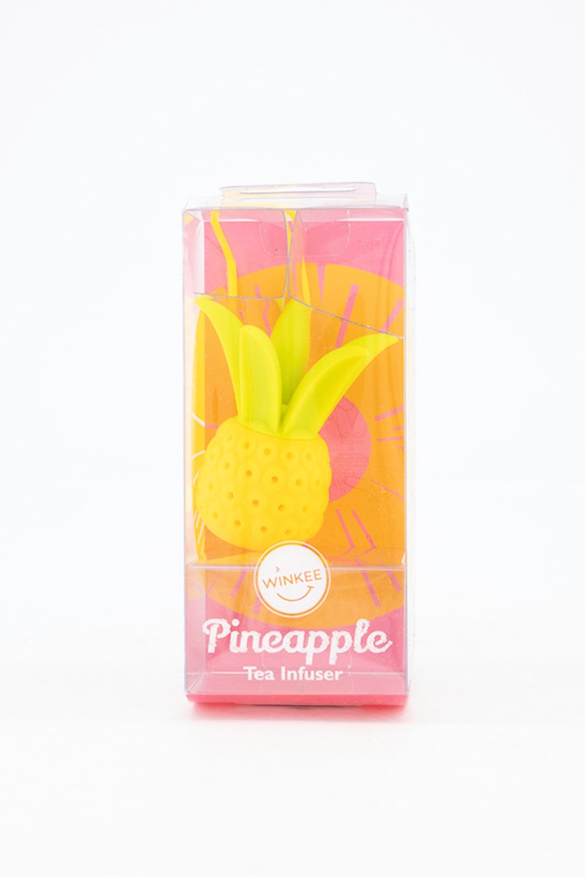 Pineapple Tea Infuser, Yellow