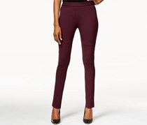 Calvin Klein Jeans Women's Solid Skinny Leggings, Cranberry