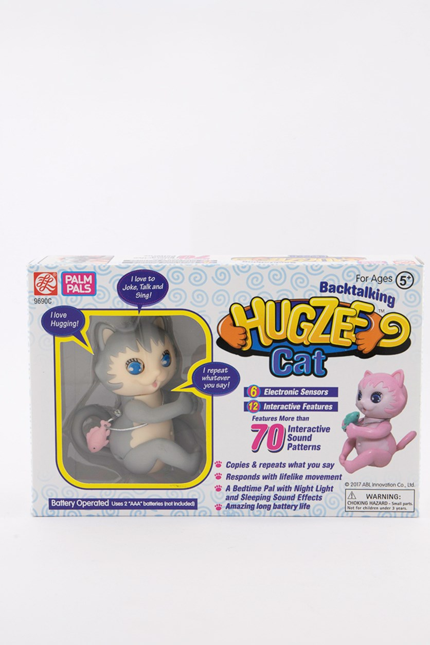 Hugzee Cat Toy, Grey