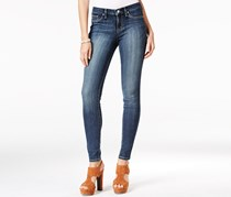 Jessica Simpson Kiss Me Ditto Wash Super-Skinny Jeans, Wright