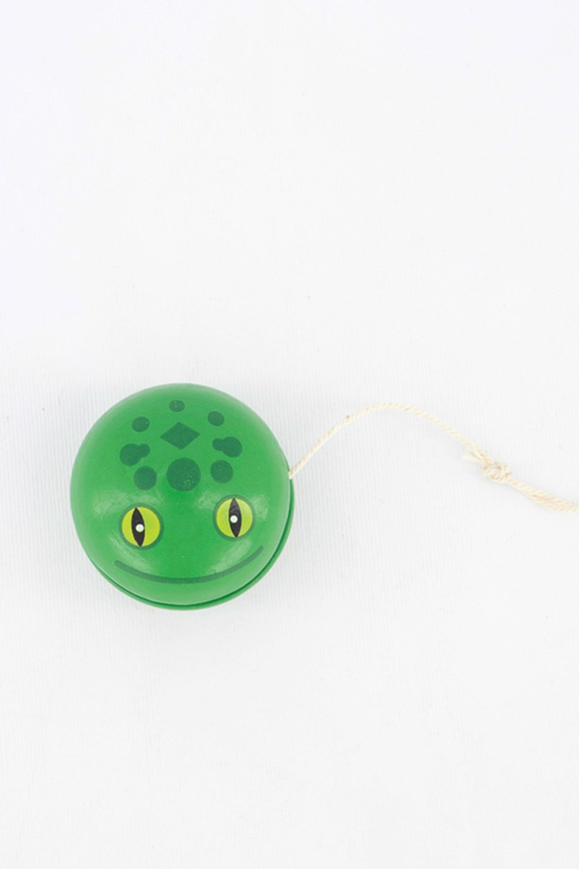 Wooden Animal Yoyo, Green