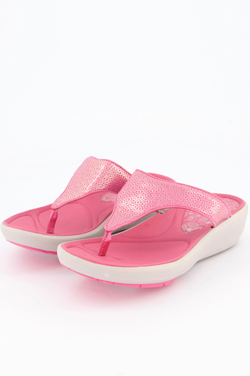 Women's Wave Dazzle Sandals, Pink