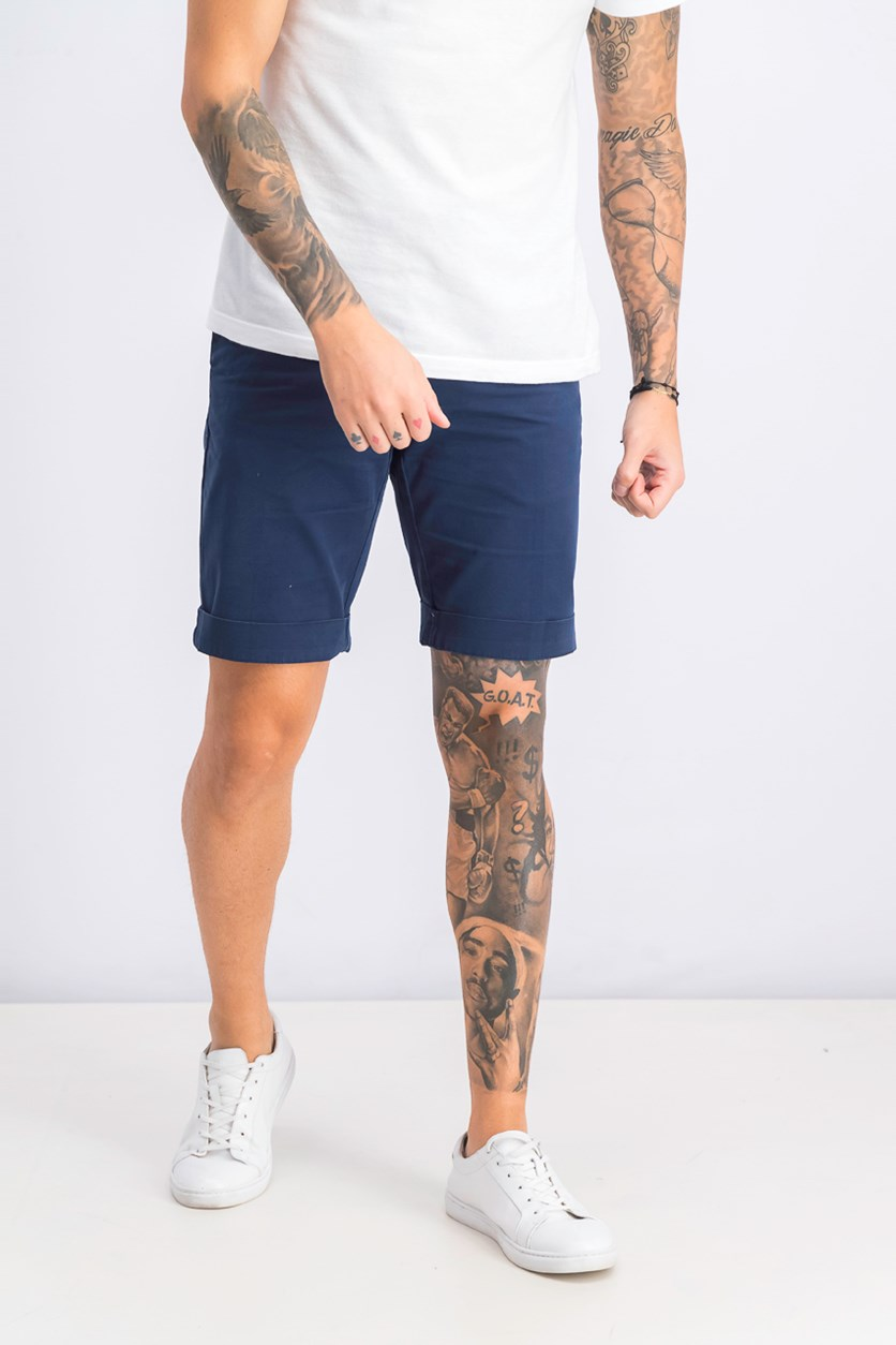 Men's Chino Short, Navy