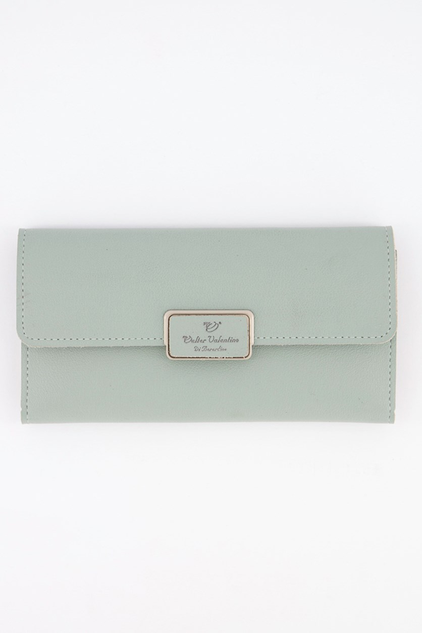 Women's Synthetic Wallet, Mint
