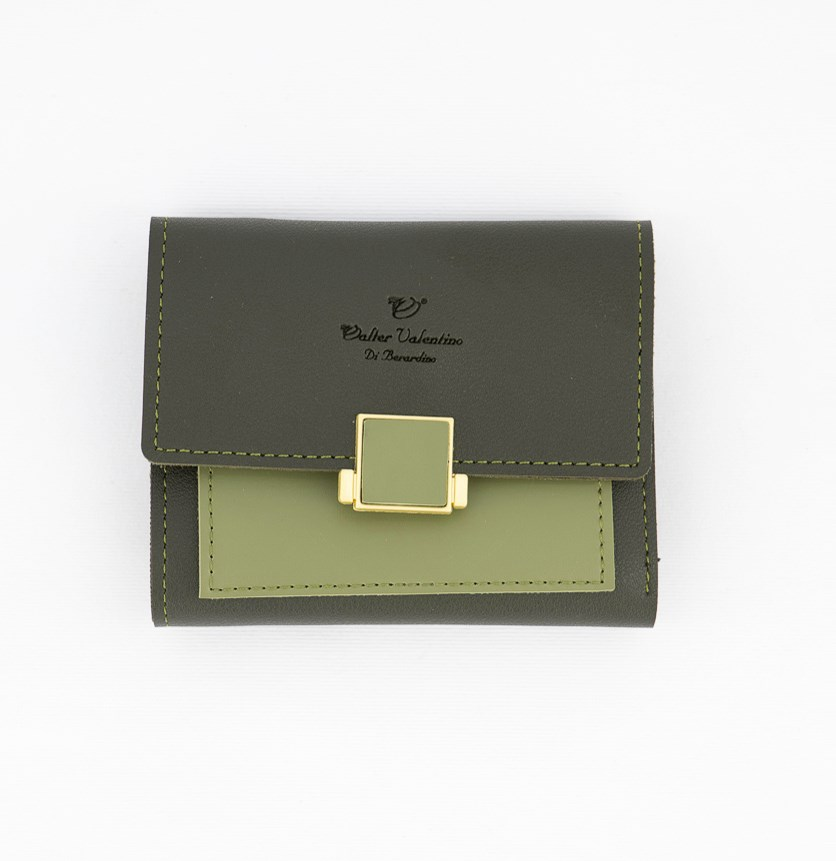 Women's Synthetic Wallet, Green