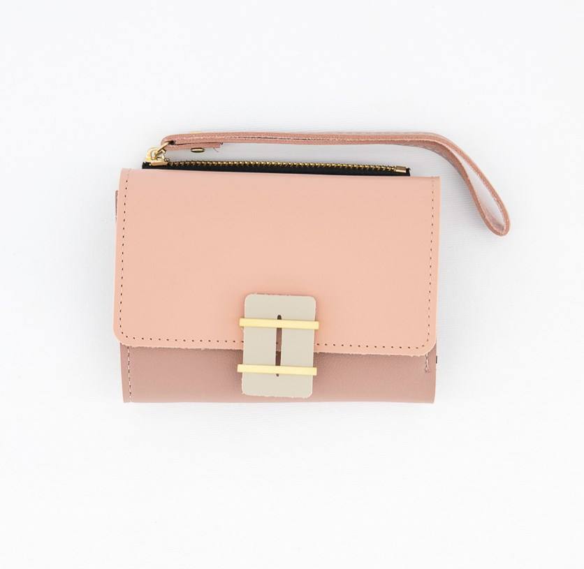 Women's Synthetic Wallet, Pink