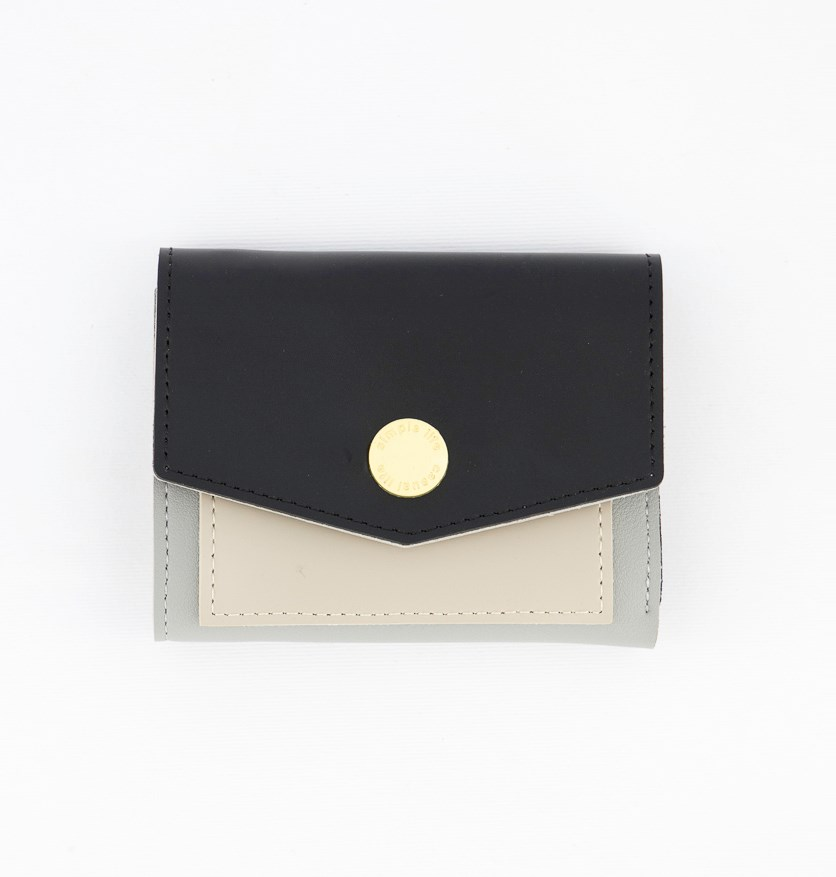 Women's Synthetic Wallet, Black