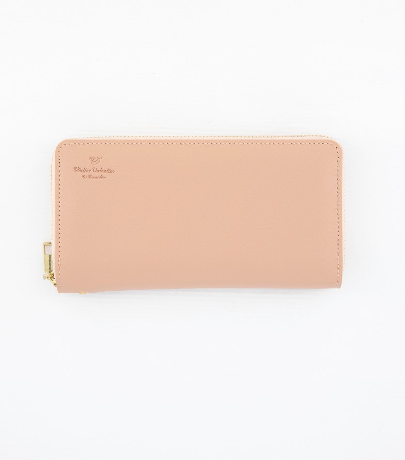 Women's Zip Closure Wallet, Pink