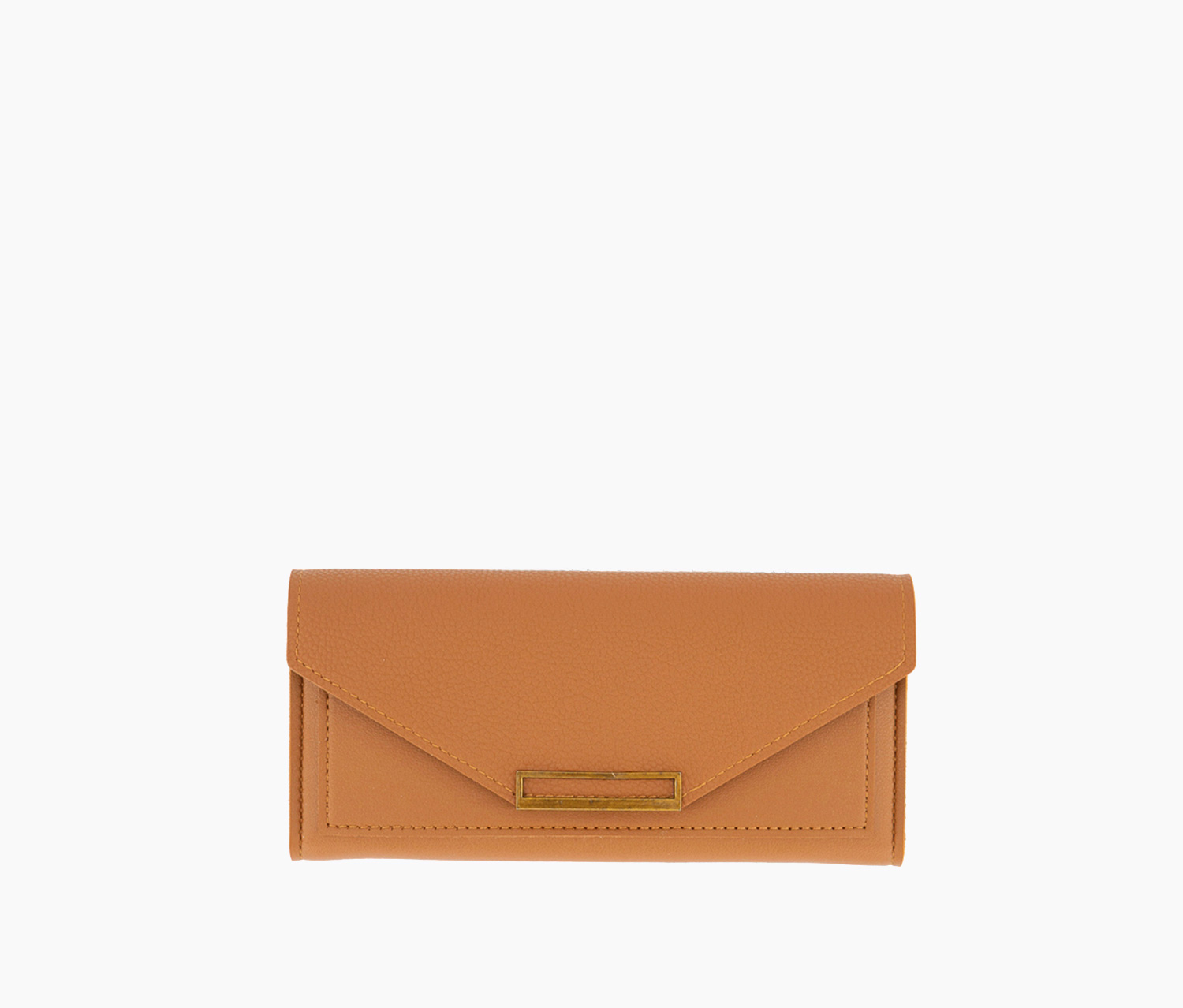 Women's Synthetic Leather Wallet, Burnt Orange