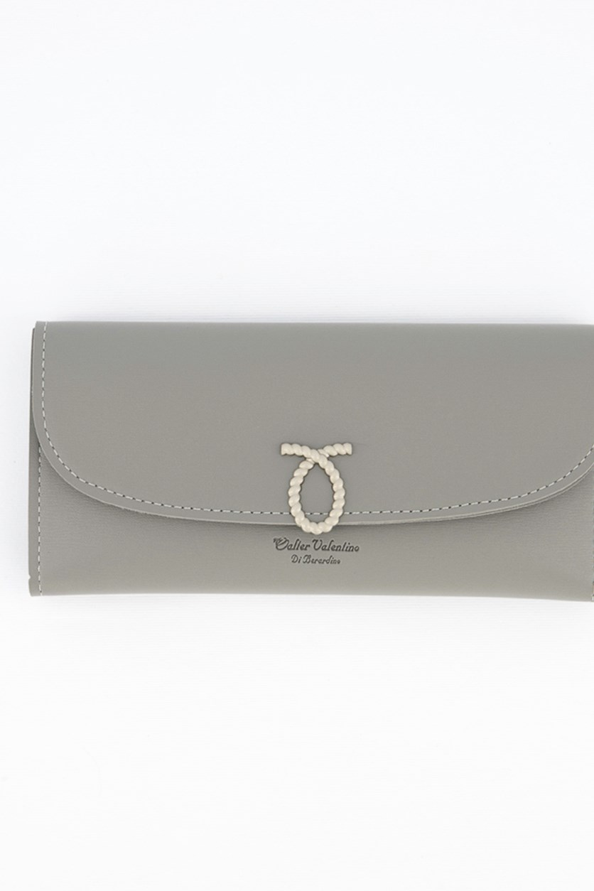 Women's Synthetic Leather Wallet, Grey