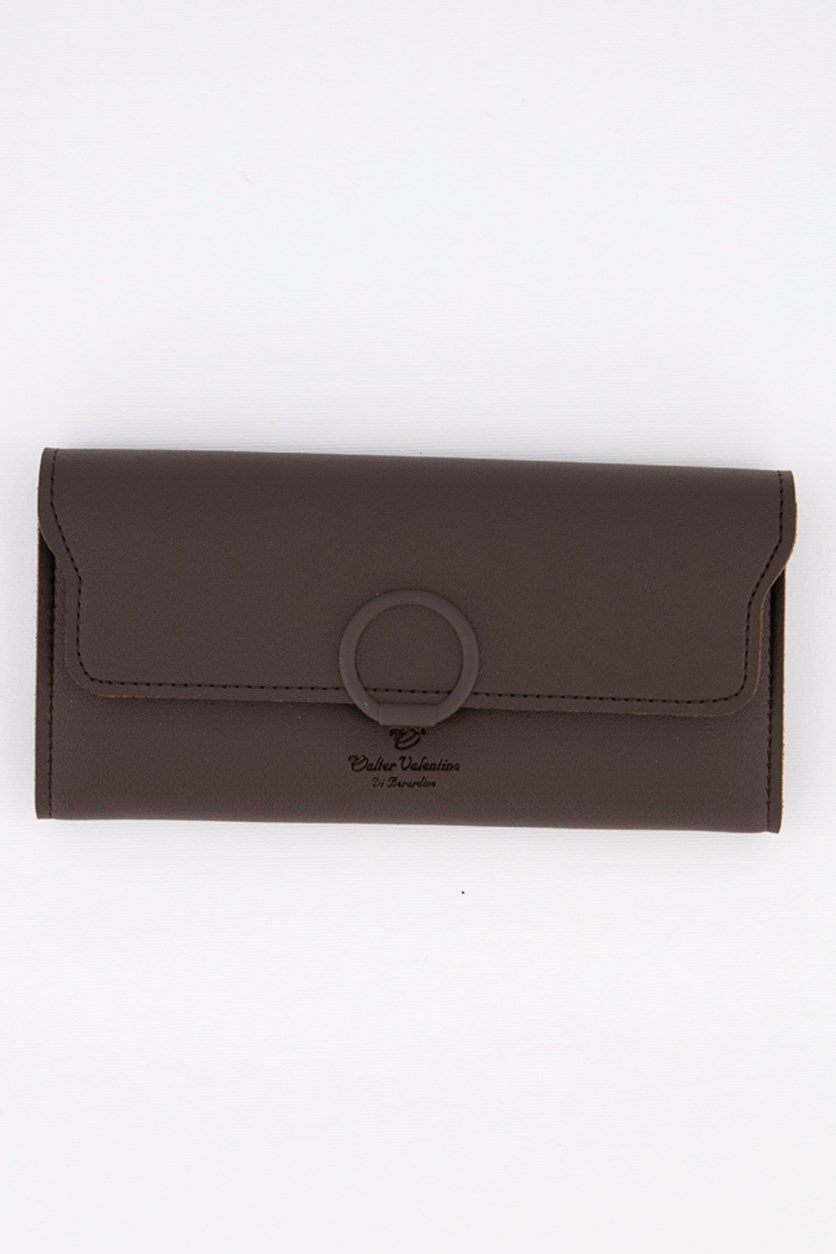 Women's Synthetic Wallet, Brown