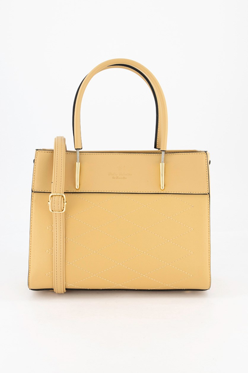 Women's Satchel Bag, Beige