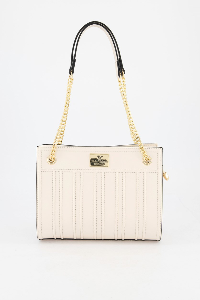 Women's Shoulder Bag, Cream