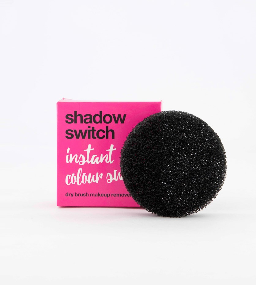 Women's Shadow Switch Dry Brush Cleaner, Black