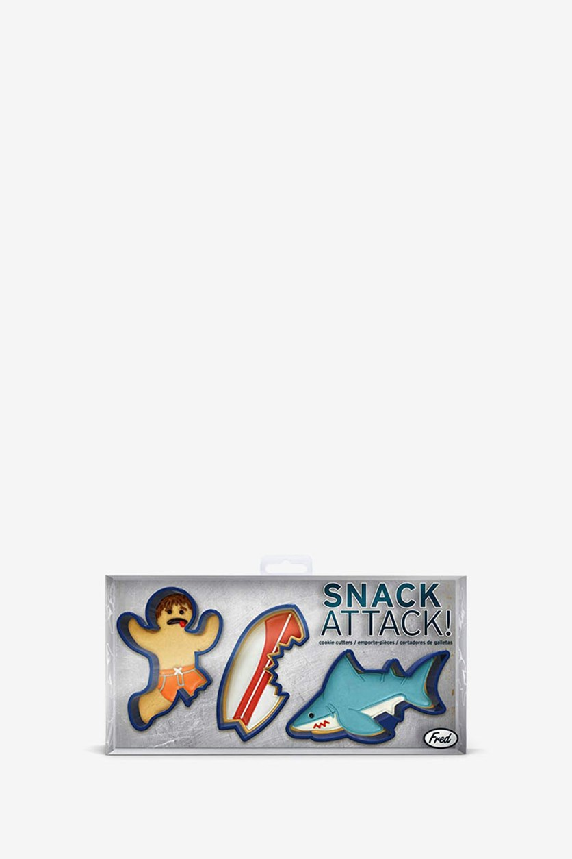 Snack Attack Cookie Cutter, Navy