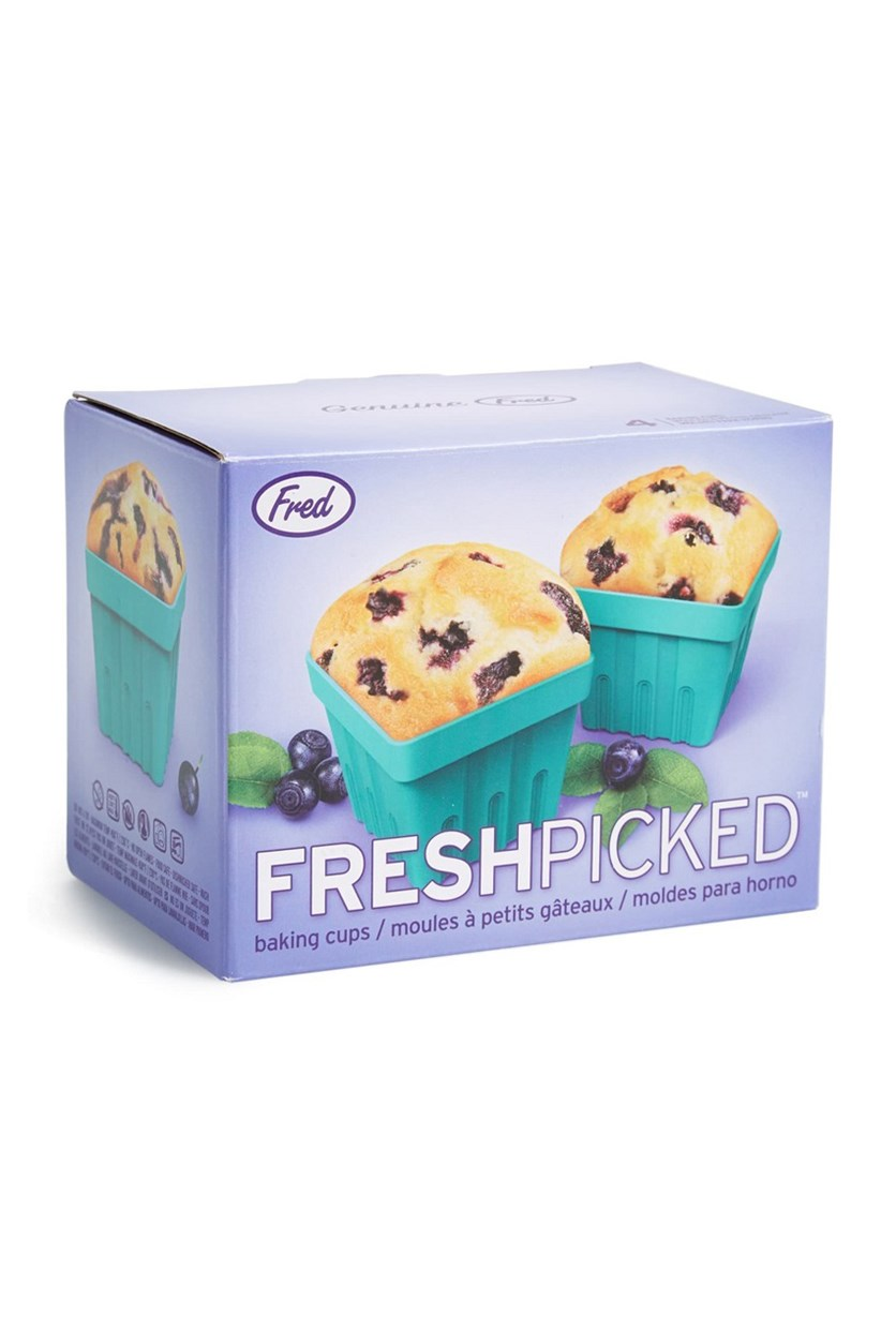 Freshed Pick Baking Cups,  Teal Green