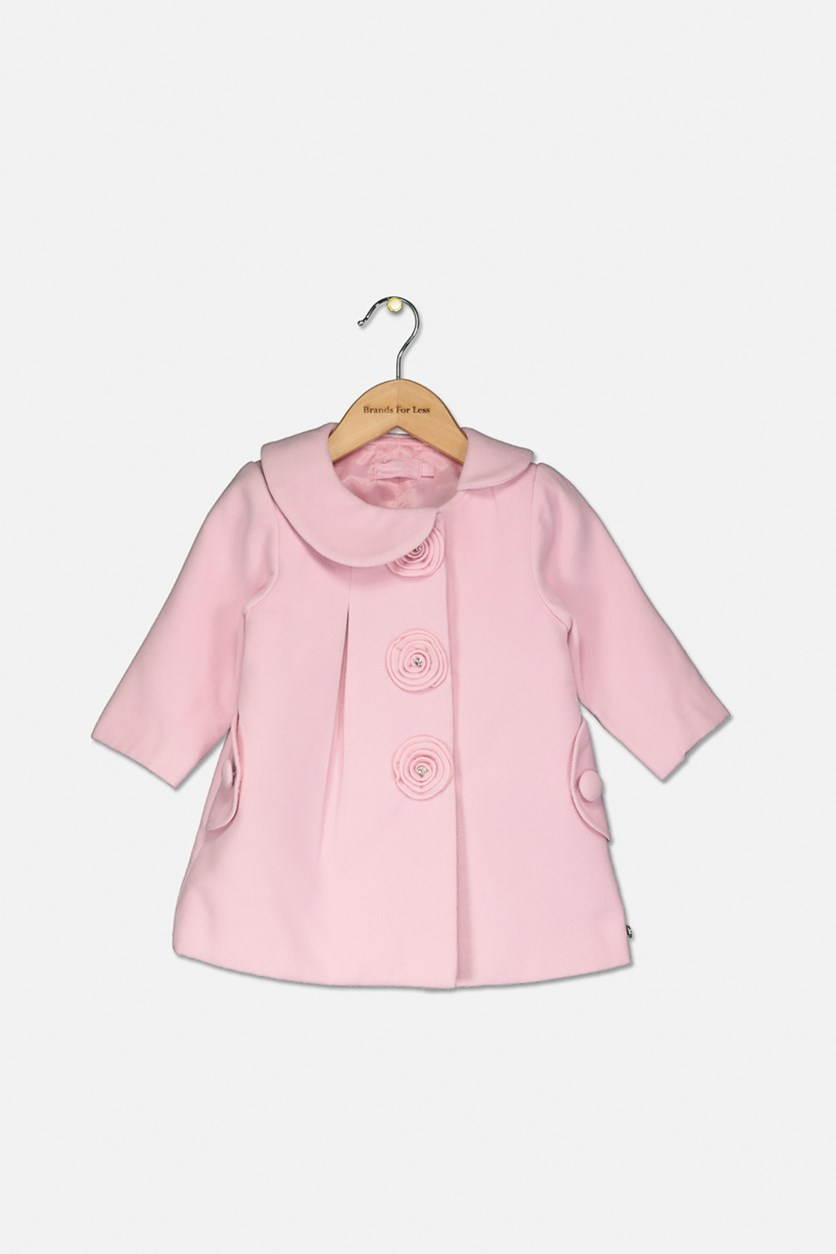 Girls Parka Coat, Pink
