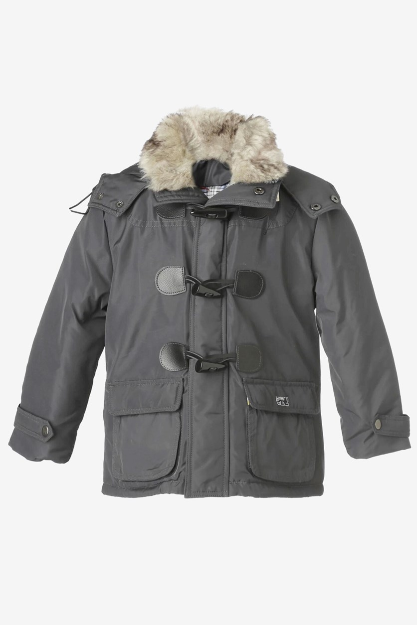 Boy's Renegades Hooded Jacket, Grey